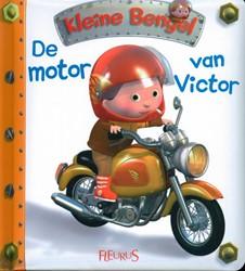 Kinderboeken  babyboek De motor van Victor