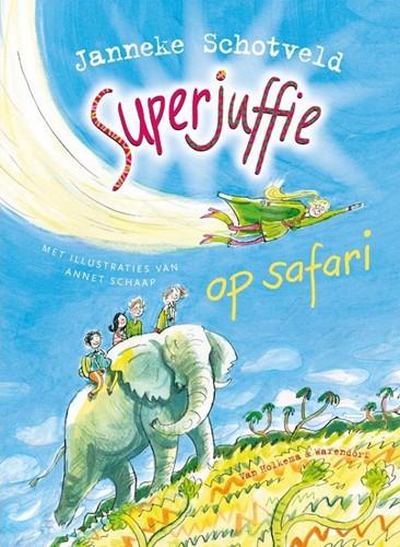 Unieboek  - Superjuffie op safari. 7+