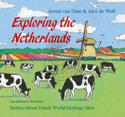 Kinderboeken  educatieboek Op reis door Nederland