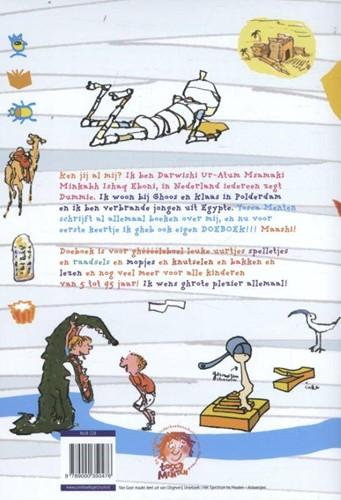 Kinderboeken  leesboek Dummie de mummie doeboek