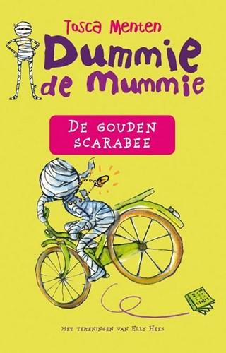 Kinderboeken leesboek Dummie de Mumie en de gouden scarabee
