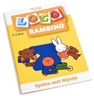 Loco  Bambino educatief spel spelen met nijntje