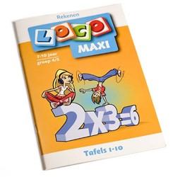 Loco  Maxi educatief spel tafels 1-10