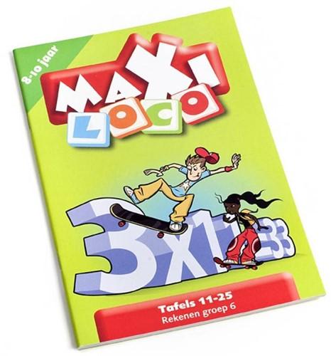 Loco Maxi Tafels 11-25. 9 - 11 jaar