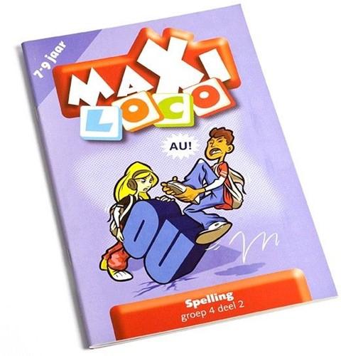 Loco Maxi educatief spel spelling groep 4 deel 2