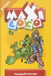 Loco  Maxi educatief spel topografie Europa