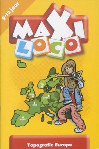 Loco Maxi Topografie Europa. 10 - 12 jaar