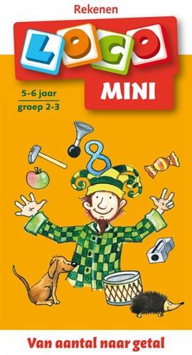Loco Mini Van aantal naar getal. 5 - 6 jaar