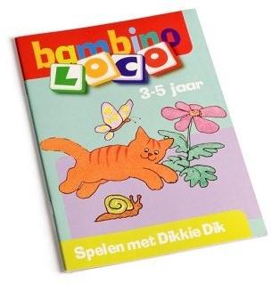 Loco Bambino spelen met Dikkie Dik. 3 - 5 jaar