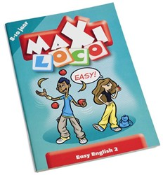 Loco  Maxi educatief spel Easy English More 2
