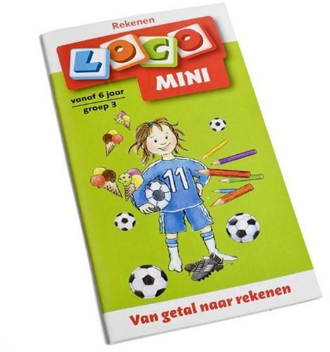 Loco Mini Van getal naar rekenen. 6+