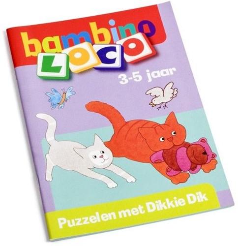 Loco  Bambino educatief spel puzzelen Dikkie Dik
