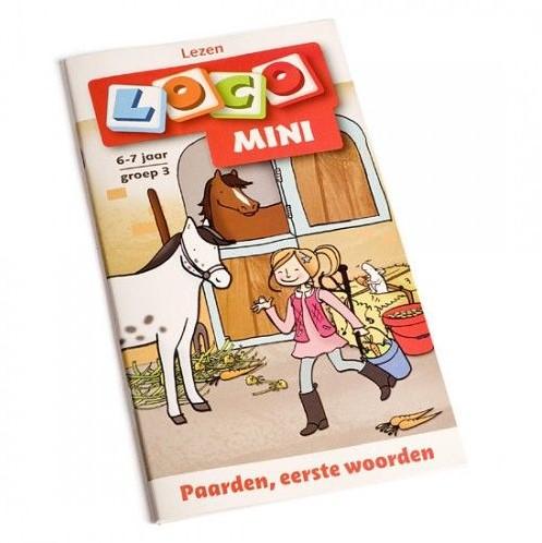 Loco Mini Paarden, eerste woorden. 6 - 7 jaar