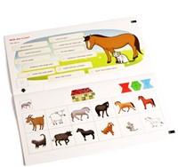 Loco  Mini educatief spel Paarden eerste woorden-2