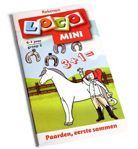 Loco Mini Paarden, eerste sommen. 6 - 7 jaar