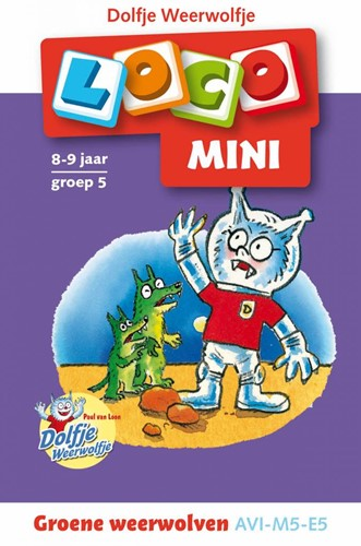 Loco  Mini educatief spel Dolfje weerwolfje Groene weerwolven