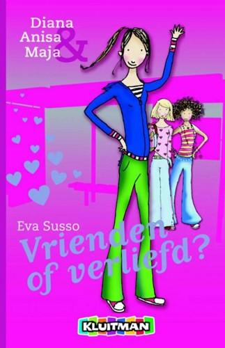 Kinderboeken  leesboek Diana, Anisa en maja vrienden vrienden of verliefd?