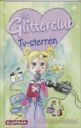 Kinderboeken  avi boek de glitterclub tv sterren AVI E6