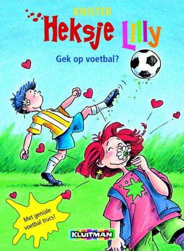 Kinderboeken  leesboek Heksje Lilly Gek op voetbal?