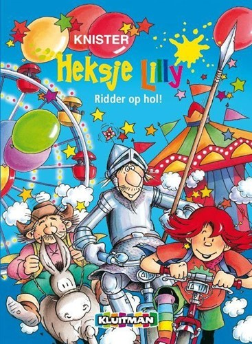 Kinderboeken  avi boek Heksje Lilly Ridder op hol AVI E4