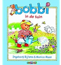 Kinderboeken  avi boek Bobbi in de tuin AVI Start