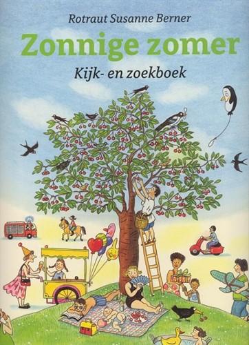 Kijk- en zoekboek: Zonnige zomer. 2+