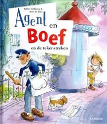 Kinderboeken  prentenboek Agent en boef tekenstreken