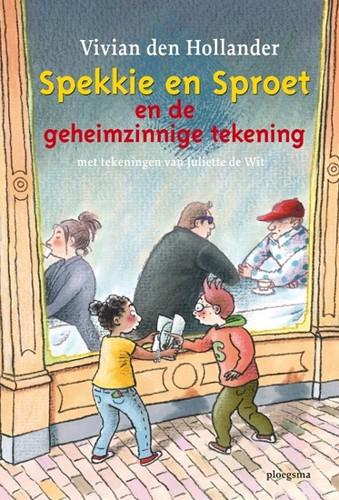 Ploegsma  - Spekkie en Sproet en de geheimzinnige tekening. 7+