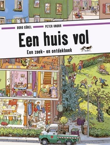 Een huis vol (zoek- en ontdekboek). 3+