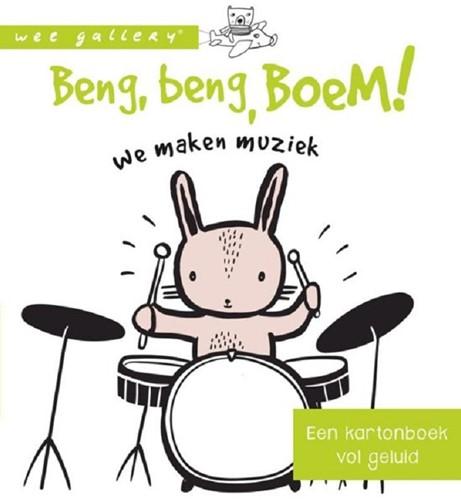 Wee Gallery geluidenboek Beng, beng, boem. 0+