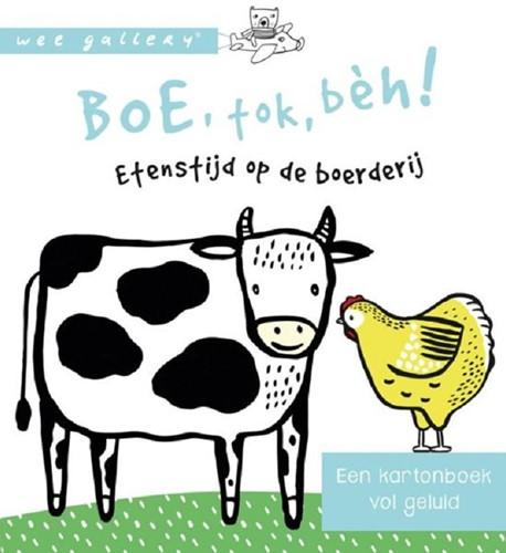 Wee Gallery geluidenboek Boe, tok, beh. 0+