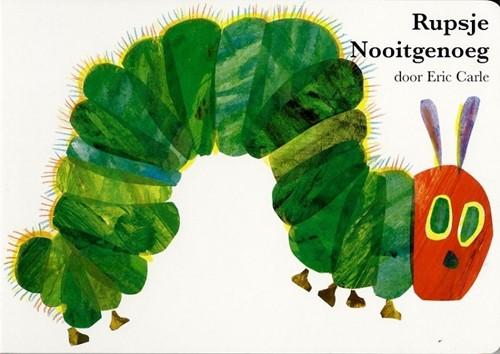 Gottmer Rupsje Nooitgenoeg - Rupsje Nooitgenoeg (groot kartonboek) 3+