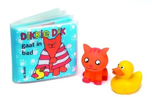 Dikkie Dik gaat in bad (+ 2 waterspuiter