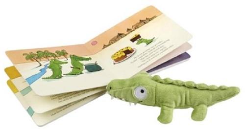 Gottmer Prentenboek - Ik zou wel een kindje (+ pluchen krokodil). 4+