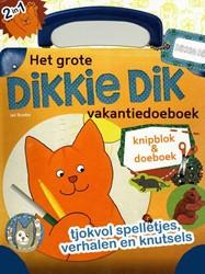 Kinderboeken  doeboek Het grote dikkie dik vakantie doeboek