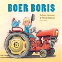 Kinderboeken  prentenboek Boer Boris