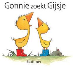 Kinderboeken  prentenboek Gonnie zoekt Gijsje
