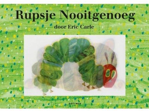 Kinderboeken  prentenboek Rupsje nooitgenoeg (special)