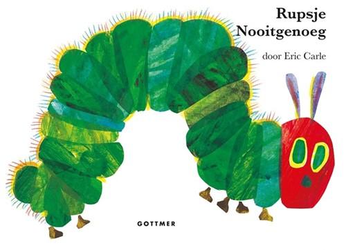Rupsje Nooitgenoeg (karton). 3+