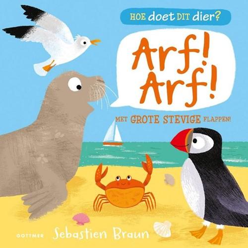 Gottmer kartonboek Hoe doet dit dier. Arf arf. 2+