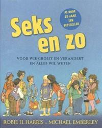 Kinderboeken  educatieboek Seks en zo