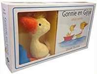 Kinderboeken  prentenboek Gonnie en Gijsje + pluchen Gij