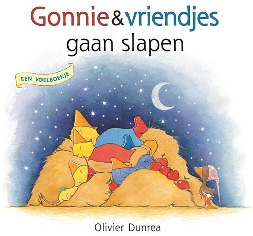 Gottmer Gonnie en Gijsje - Gonnie en vriendjes gaan slapen (voelboek). 2+