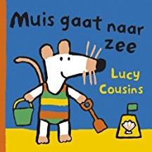 Kinderboeken  babyboek Badboekje, muis gaat naar zee
