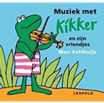 Kinderboeken  babyboek Ritselboekje, Muziek met kikker