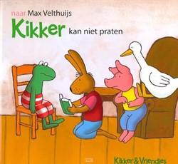 Kinderboeken  prentenboek Kikker kan niet praten.