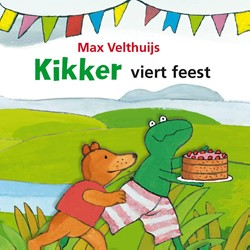 Kinderboeken  prentenboek Kikker viert feest (karton)