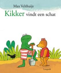 Kinderboeken  prentenboek Kikker vindt een schat