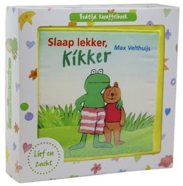 Leopold stoffenboek Slaap lekker, Kikker. 1+