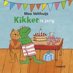 Kinderboeken  prentenboek Kikker is jarig - karton